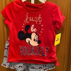 Kids Minnie Mouse set